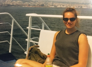 Angie took this on my 20th birthday.  We took a ferry from Naples, Italy to Capri.  What a way to spend a birthday.  I'll never forget it.