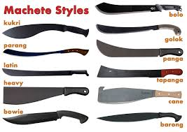 machete styles