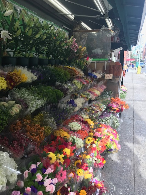 NYC Flower stand